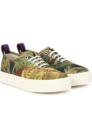 Eytys Mother printed canvas sneakers