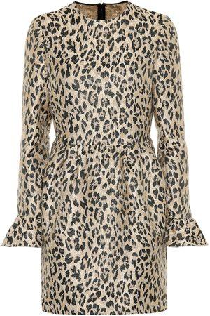 Valentino / Garavani Leopard brocade dress