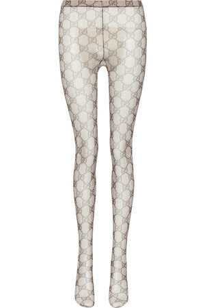 Gucci Women Stockings - GG patterned tights