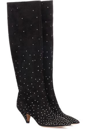 VALENTINO GARAVANI Studded suede boots