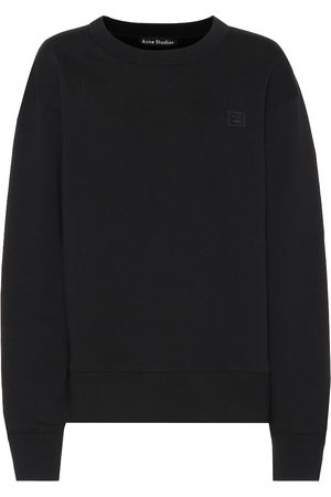 Acne Fairview Face cotton sweatshirt