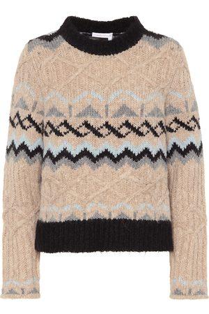 Chloé Alpaca and wool blend sweater