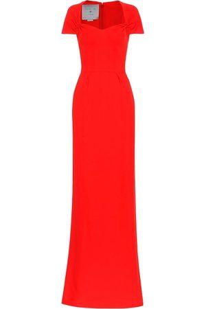 Stella McCartney Rose stretch cady gown