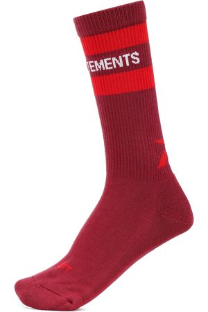 Vetements X Reebok Classic cotton-blend socks