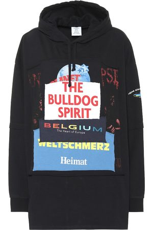 Vetements Oversized cotton hoodie