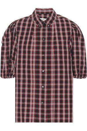Isabel Marant, Étoile Orem checked cotton shirt