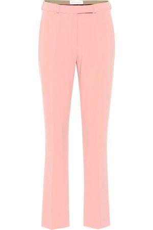 Etro Mid-rise straight crêpe pants