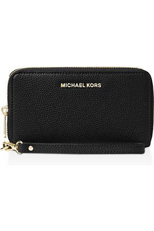 Michael Kors Multi-Function Flat Large Pebble Leather Smartphone Wristlet