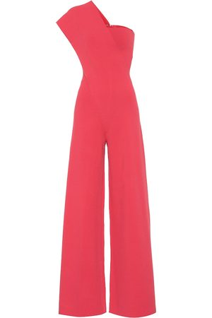 Stella McCartney One-shoulder crêpe jumpsuit