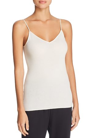 Hanro Cotton Seamless V-Neck Cami