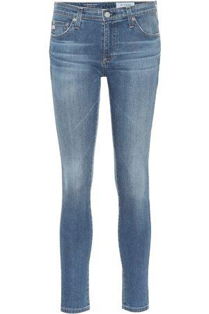 AG Jeans The Legging mid-rise skinny jeans