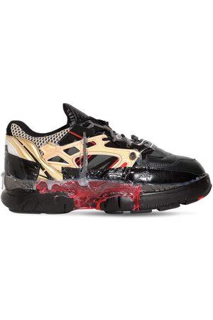 Maison Margiela Fusion Leather & Mesh Sneakers