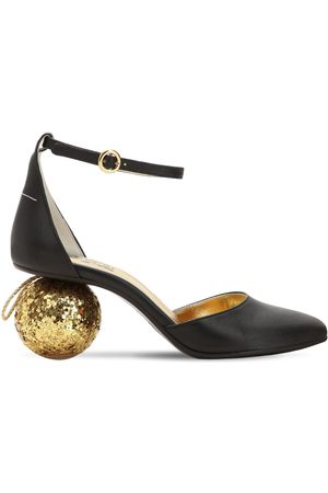 MM6 MAISON MARGIELA 60mm Sphere Heel Leather Pumps