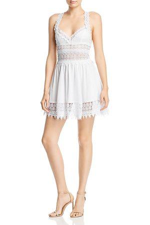 CHARO RUIZ IBIZA Women Party Dresses - Marilyn Lace Mini Dress