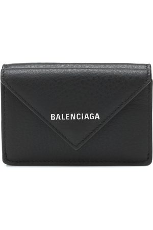 Balenciaga Embossed leather wallet