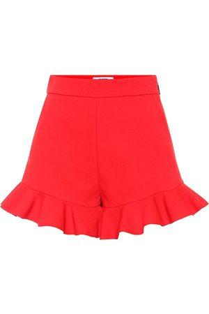 Msgm Stretch-crêpe shorts