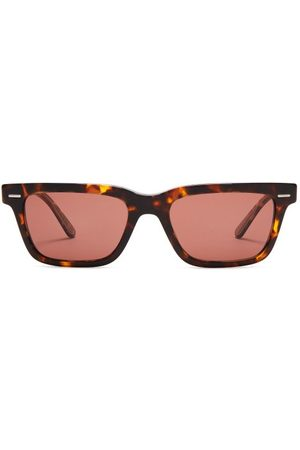 The Row X Oliver Peoples Rectangular-frame Sunglasses - Womens - Tortoiseshell