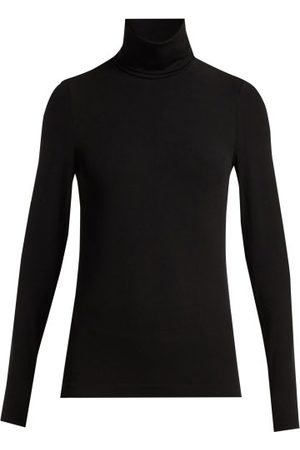 Wolford Aurora Roll Neck Jersey Top - Womens