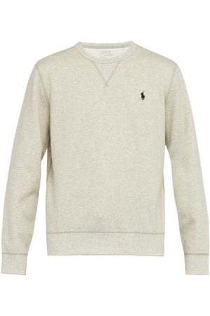 Polo Ralph Lauren Logo-embroidered Technical Sweatshirt - Mens - Grey