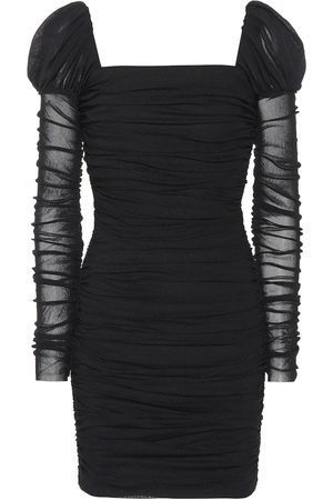 Rebecca Vallance Frenchie ruched minidress