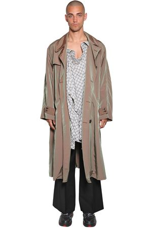 Maison Margiela Tech Trench Coat & Shirt