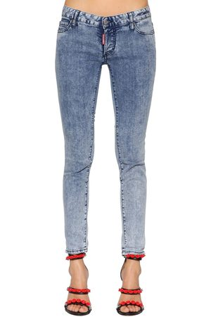 Dsquared2 Jennifer Washed Cotton Denim Jeans