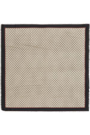 Gucci GG silk-blend scarf