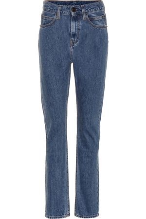 Calvin Klein High-rise straight-leg pants