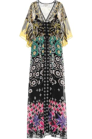 TEMPERLEY LONDON Beaumont Claudette printed kaftan