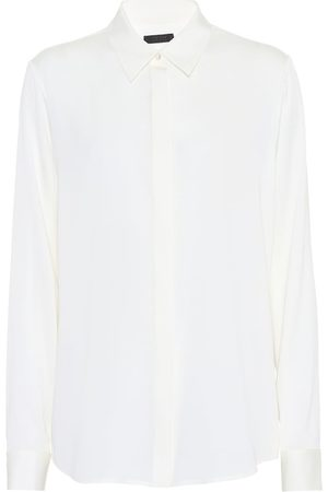 The Row Petah silk shirt