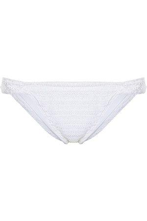 ANNA KOSTUROVA Lacey cotton crochet bikini bottoms