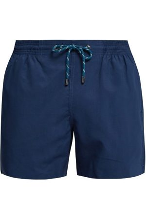 MARANÉ Slim-fit Swim Shorts - Mens - Navy