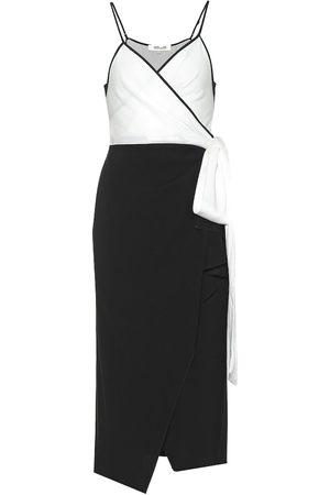 Diane von Furstenberg Avila crêpe wrap dress
