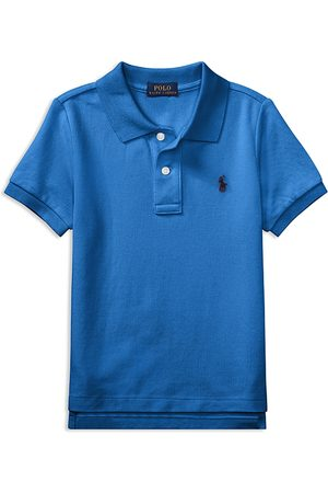 Ralph Lauren Boys Polo Shirts - Polo Boys' Solid Mesh Polo Shirt - Little Kid