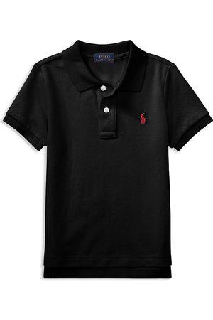Ralph Lauren Polo Boys' Solid Mesh Polo Shirt - Little Kid