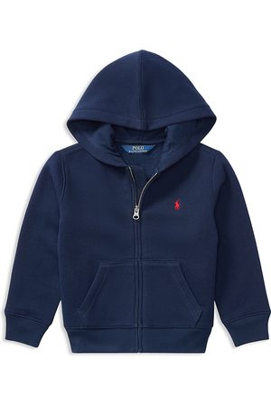 Ralph Lauren Polo Boys' Fleece Zip-Up Hoodie - Little Kid