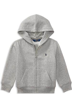 Ralph Lauren Boys Hoodies - Polo Boys' Fleece Zip-Up Hoodie - Little Kid