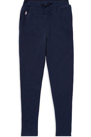 Ralph Lauren Polo Girls' French Terry Sweatpants - Big Kid