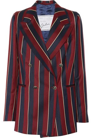 Giuliva Heritage Collection The Stella striped wool blazer