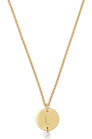 Raphaele Canot Set Free 18kt & Diamond L Charm Necklace - Womens