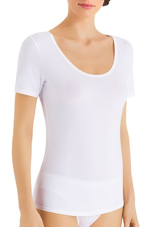 Hanro Cotton Sensation Short Sleeve Undershirt