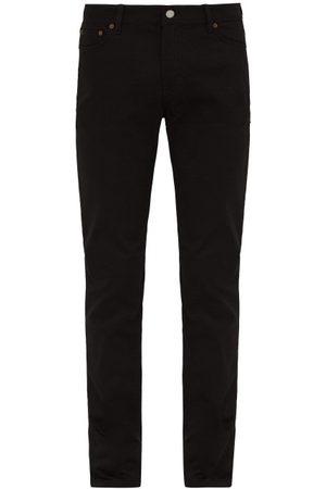 Acne Blå Konst North Mid Rise Slim Leg Jeans - Mens