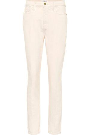 Frame Le Sylvie Slender high-rise jeans