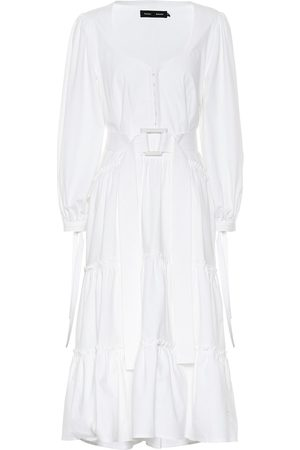 Proenza Schouler Stretch cotton midi dress