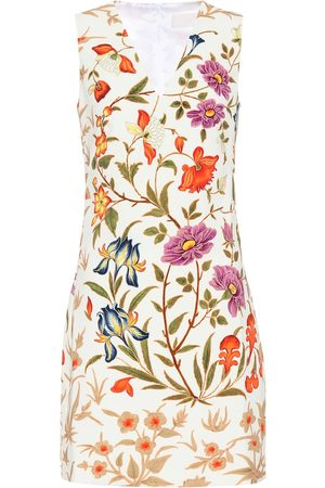 Peter Pilotto Floral crêpe minidress