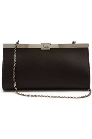 Christian Louboutin Palmette Satin Clutch - Womens