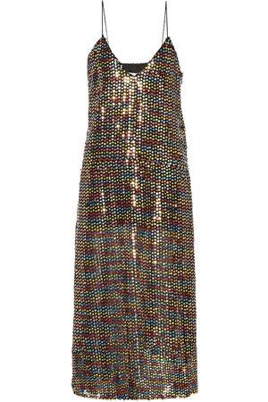 Caroline Constas Sequined midi dress