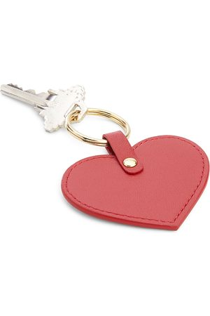 Royce New York Leather Heart Key Fob