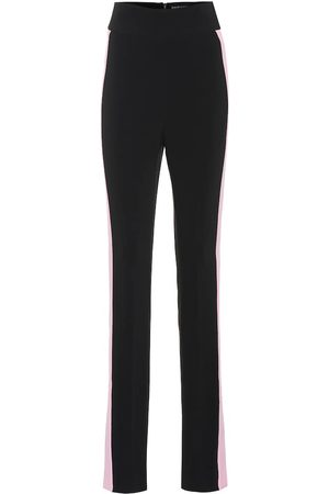 DAVID KOMA High-rise skinny cady pants