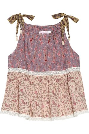 ZIMMERMANN Juniper Flounce cotton top